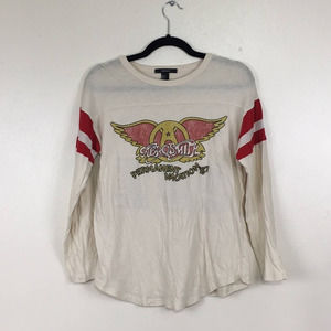 Forever21 Aerosmith Permanent Vacation '87 tour